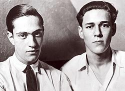 Stump thumper duo: killer anal rapists Leopold and Loeb